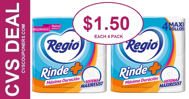 Cheap Regio Toilet Paper CVS Deals