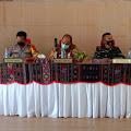 TNI Ikuti Rapat Pembahasan Rencana Penutupan Lokasi Wisata dan Hiburan di Samosir