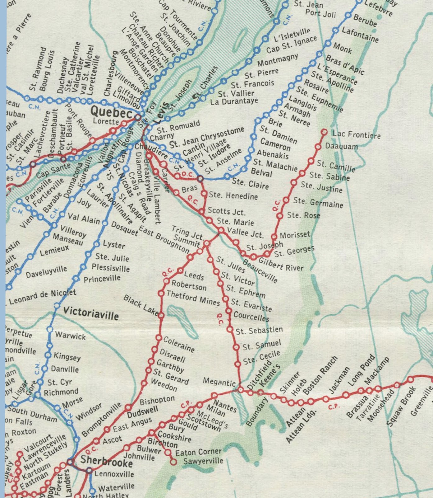 railway map of canada gis research and map collection ball state university libraries
