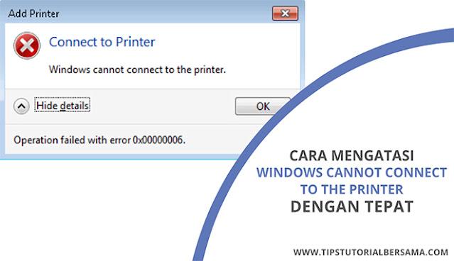 Untuk mengatasi masalah yang disebabkan oleh Windows Cannot Connect to the printer, maka kamu bisa mengikuti cara di bawah ini untuk memperbaikinya.