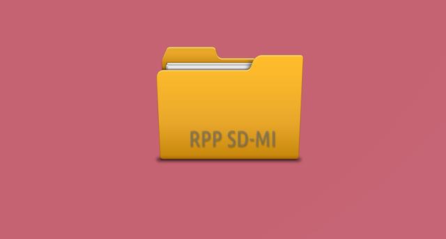 Model RPP SD Format 1 Halaman Resmi dari Pusat Kurikulum Kemdikbud