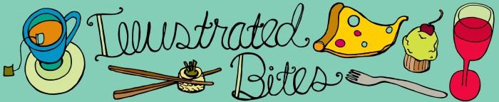 banner of illustrated bites blog