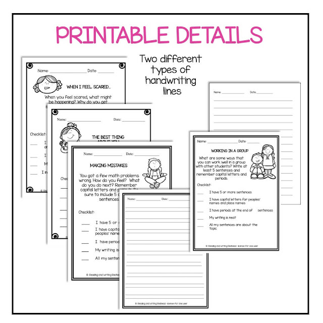 Printable examples