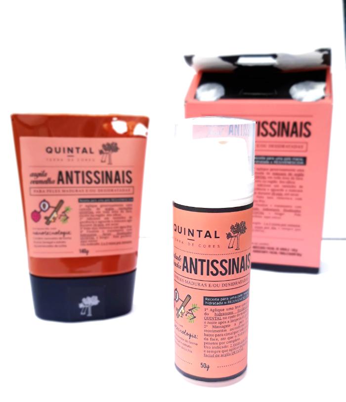 Hidratante Finalizador Antissinais Quintal Dermocosméticos