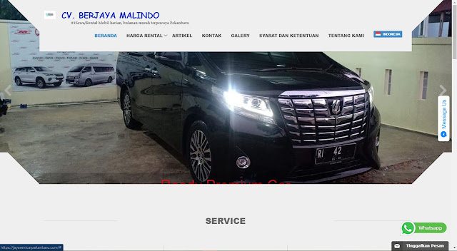 Rental Mobil Berjaya Malindo Pekanbaru