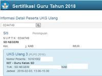 Cara Mengecek Jadwal UTN Ulang 1 dan 3 Tahun 2018