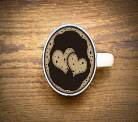 Tách Cafe Trái Tim