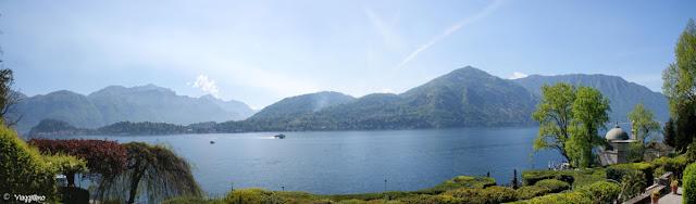 Vista panoramica sul Lago di Como da Villa Carlotta