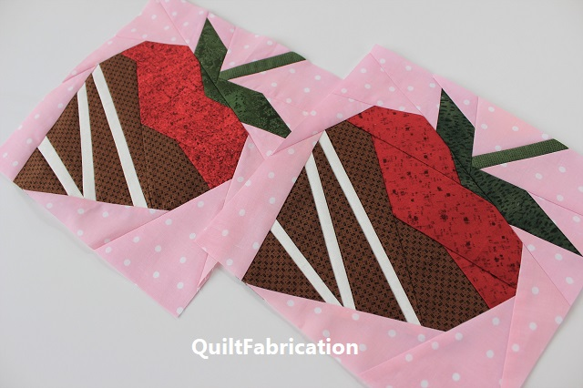 chocolate dipped strawberries by QuiltFabrication