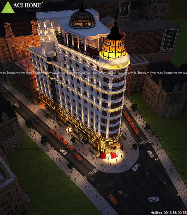 Thiết kế trung tâm thương mại cổ điển 4 sao