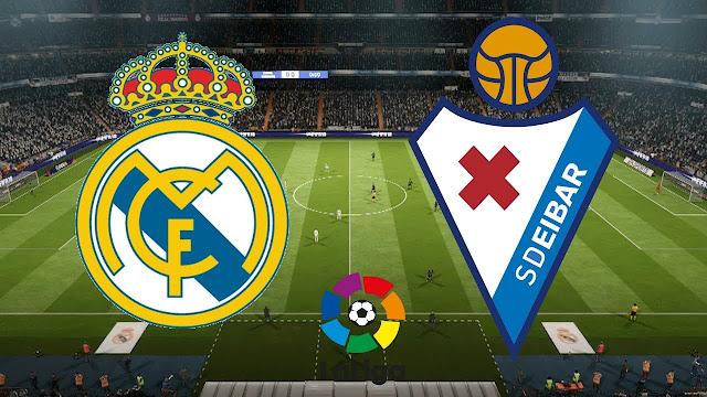 مباراة ريال مدريد وايبار بث مباشر الدوري الإسباني