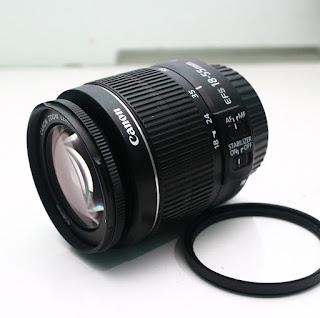 Jual Lensa Kit Canon 18-55mm IS2 Bekas