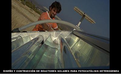 reactor solar para fotocatalisis heterogenea
