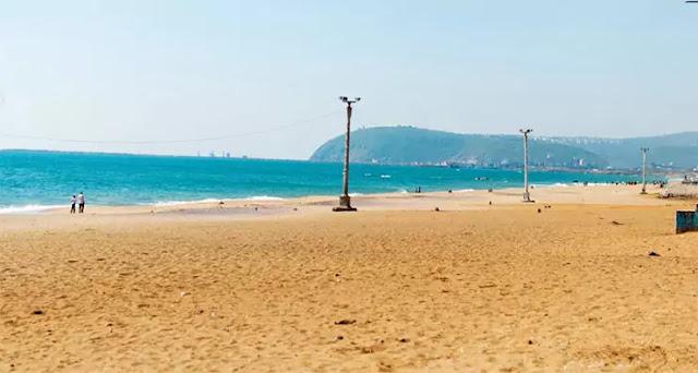 Ramakrishna beach Visakhapatnam