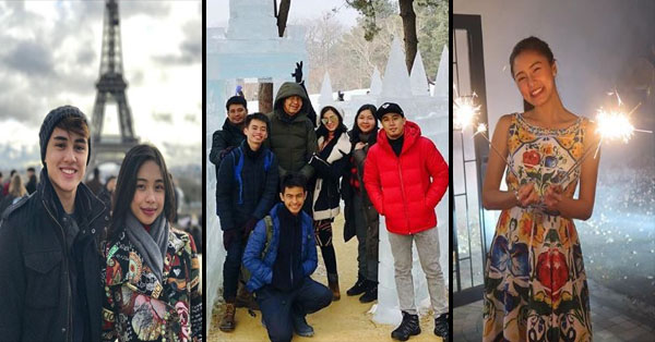 IN PHOTOS: This Is How Your Favorite Kapamilya Celebrities Welcomed The New Year!
