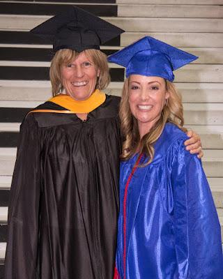Photo of Trisha with Rio Salado College President Kate Smith