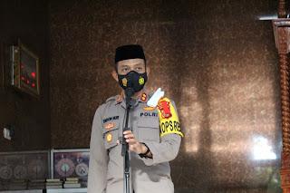 Tingkatkan Ketaqwaan anggota, Polres Pangkep Gelar Binrohtal