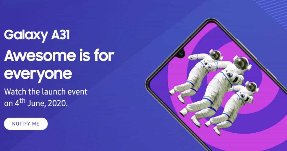 سامسونج  الإعلان عن موعد طرح سلسلة  هواتف Galaxy A على Flipkart في الهند