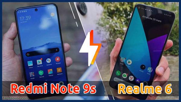 مقارنة Redmi Note 9S مع Realme 6: ما هو أفضل هاتف؟