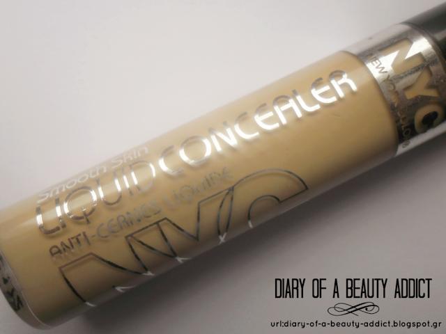NYC Smooth Skin Liquid Concealer-787 Medium