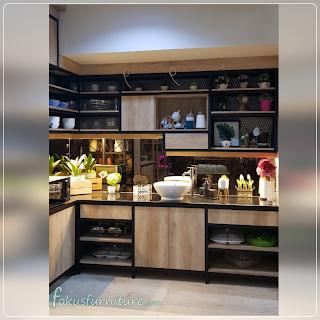 Kitchenset gaya industrial style