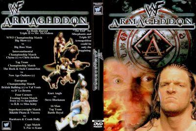 Resultado de imagen para PPV WWF Armageddon 1999