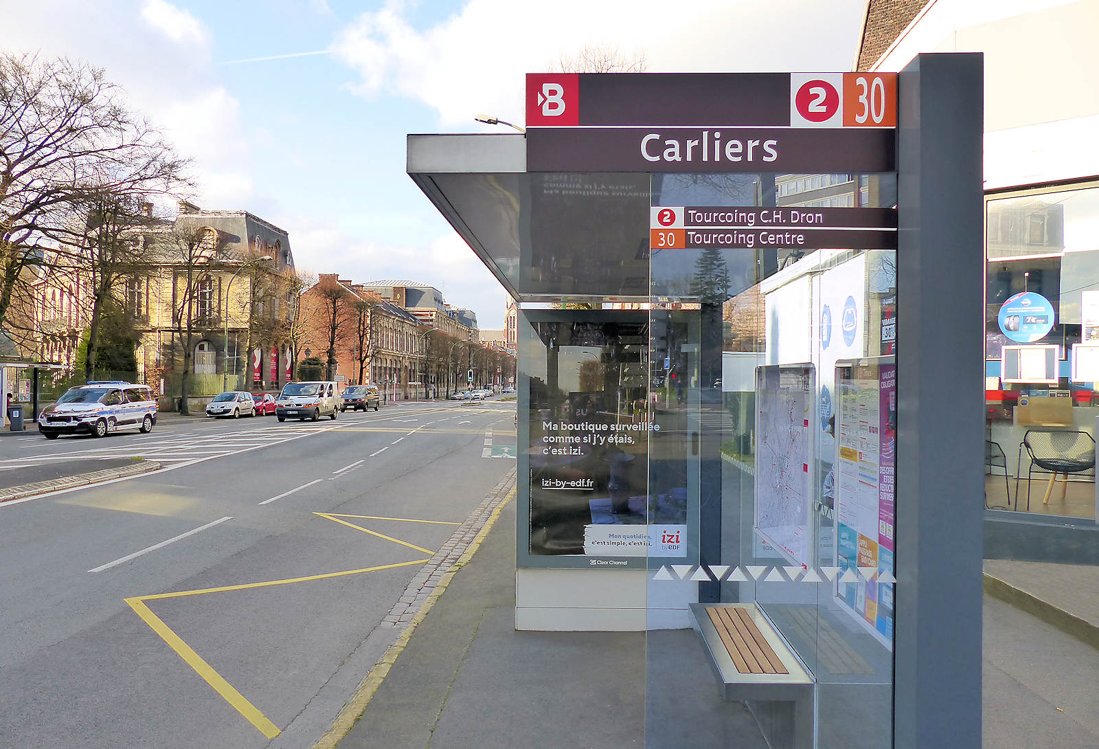 Bus Tourcoing - Carliers, ligne 2, 30