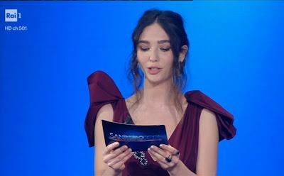 Matilda De Angelis flop festival di Sanremo 2 marzo