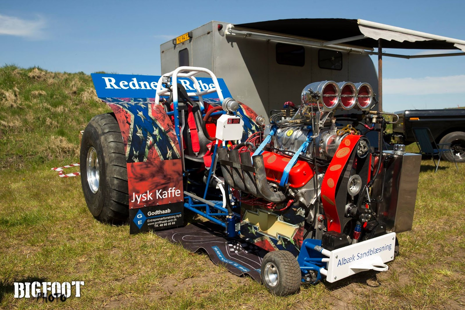 Mini Mod Tractor Pulling : Tractor pulling news pullingworld the new redneck