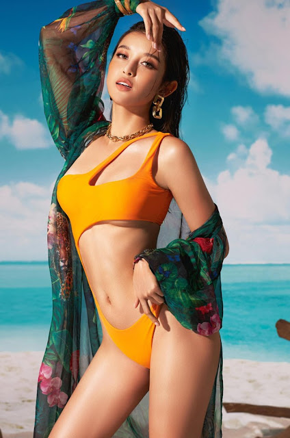Ảnh người đẹp bikini: Á hậu Huyền My mặc bikini cực xinh 8