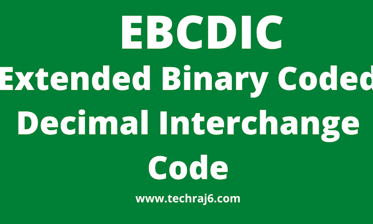 EBCDIC full form,what is the full form of EBCDIC