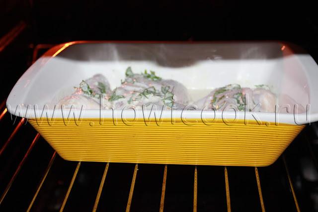 рецепт курицы в маринаде с пошаговыми фото