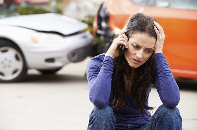 what to do if lease car accident crash rental cars
