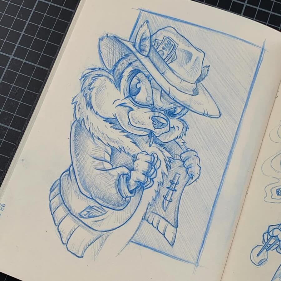 02-Chipmunks-Christof-Groll-www-designstack-co