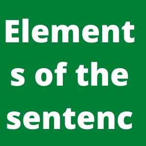 Elements of the sentence- English to Bangla grammar step by step 2020-সহজে বাক্য শিখি-ঘরে বসে ইংরেজি শিখি