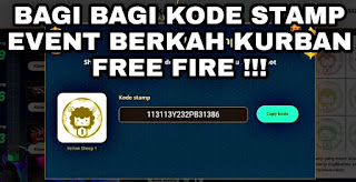 Kode Stamp Free Fire Event Idul Adha