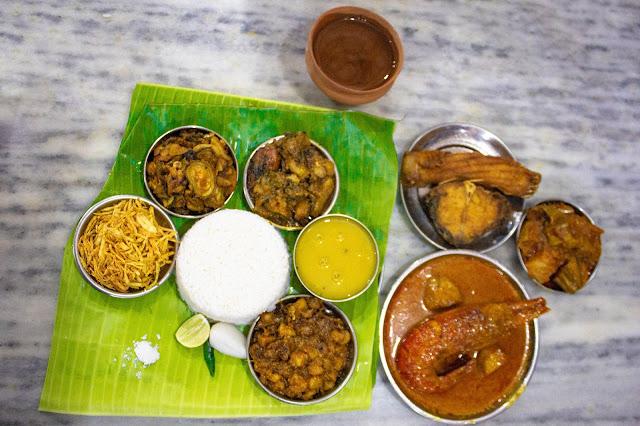 Authentic Bengali Food in Kolkata