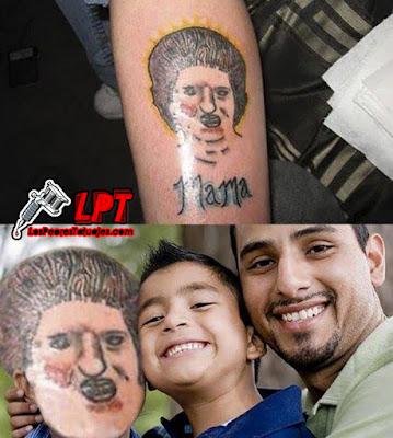 Meme tatuaje FAIL de mamá