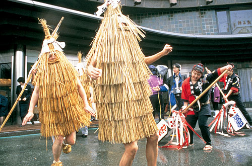 Kasedori (Straw Bird Festival), Ueyama, Yamagata