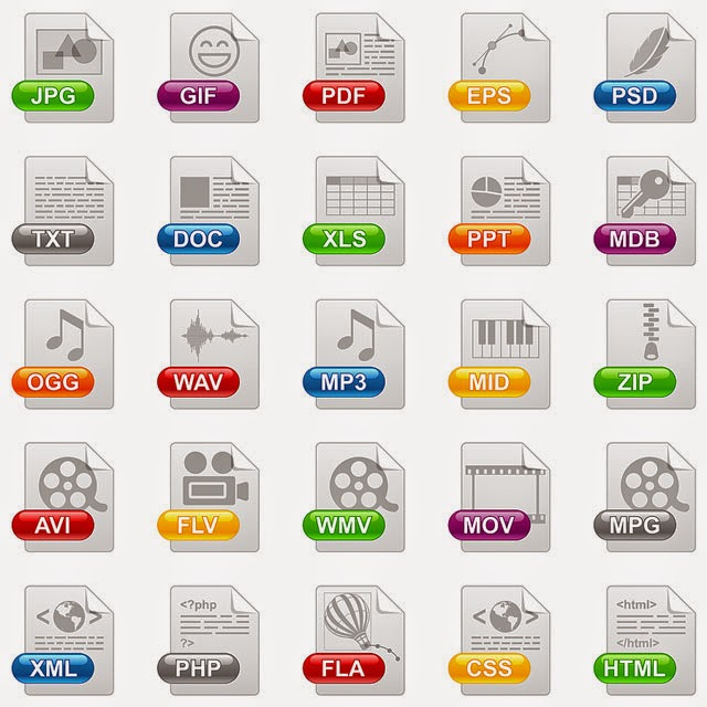 Blog Bebas: Data File Formats and File Extensions - Complete