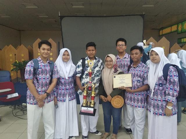SMAN 110 Juara II lomba LPSN 2019 Sudin JU2