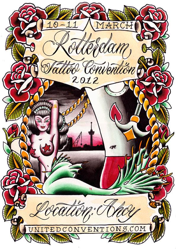 Inkstitution Tattooing 2nd Rotterdam Tattoo Convention 2012