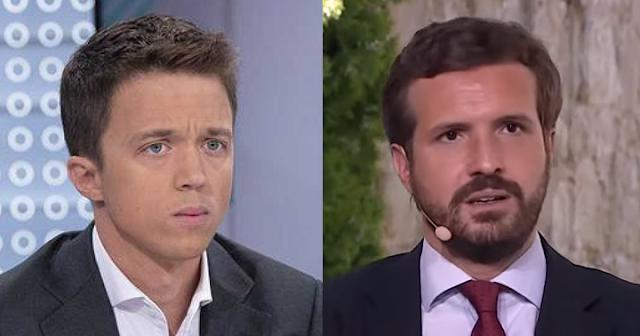 Errejón y Pablo Casado