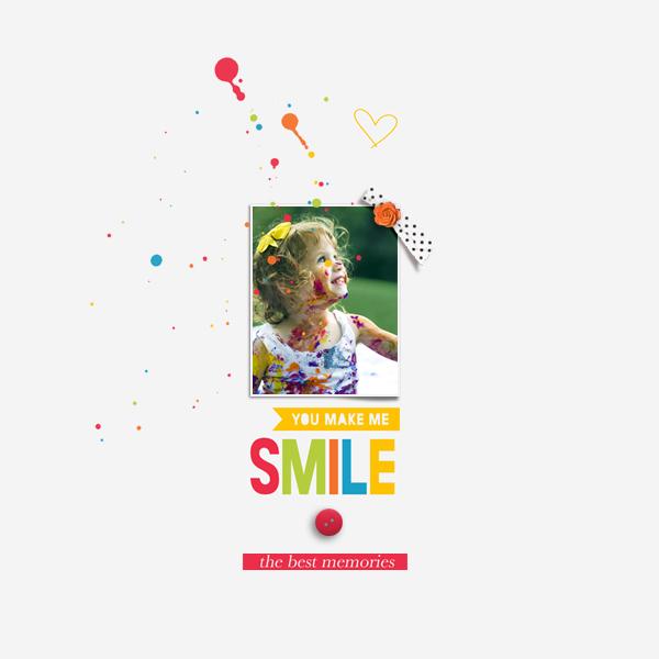 you make me smile © sylvia • sro 2017 • dunia designs • documenting everyday 2018