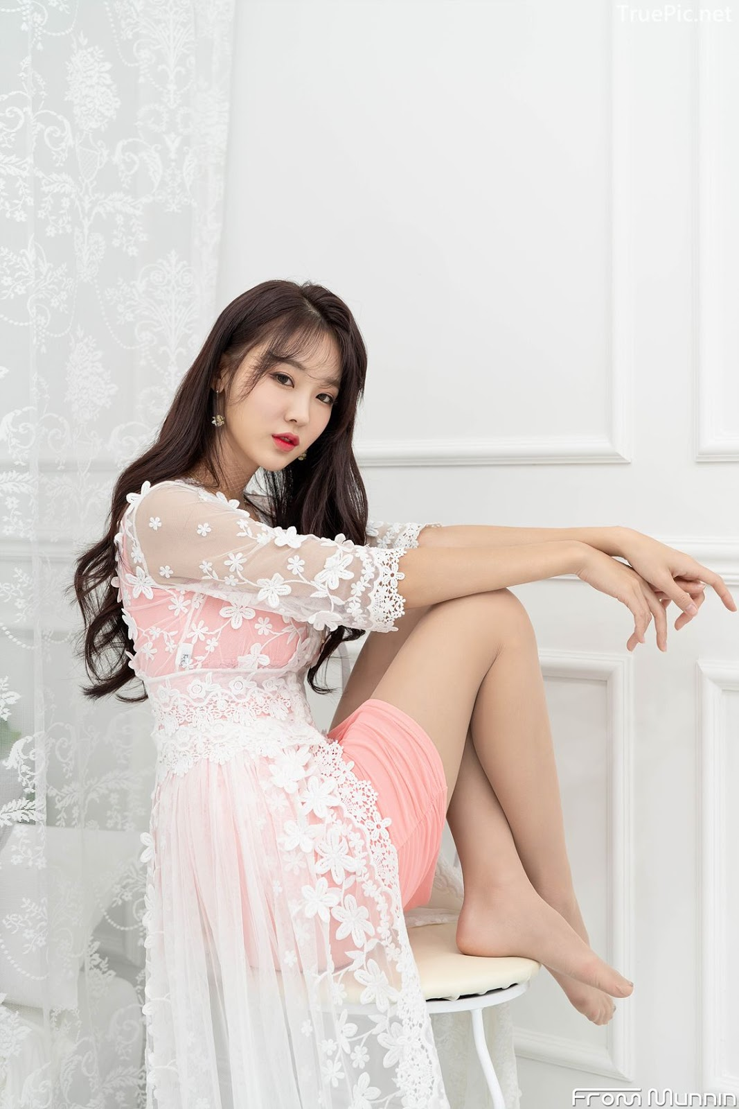 Korean hot model and fashion - Jin Yu Ri - Indoor Photoshoot Collection - Picture 6