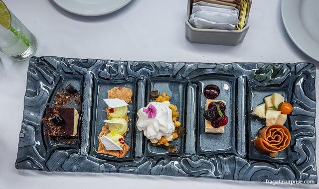 Comer em Lima - sobremesas do Restaurante Cala