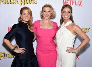 D.J., Stephanie y Kimmy en la premiere de 'Madres Forzosas' (2016)
