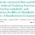 Dieta restrita a carboidratos e HIIT melhoram os perfis cardio-metabólicos e inflamatórios na síndrome metabólica