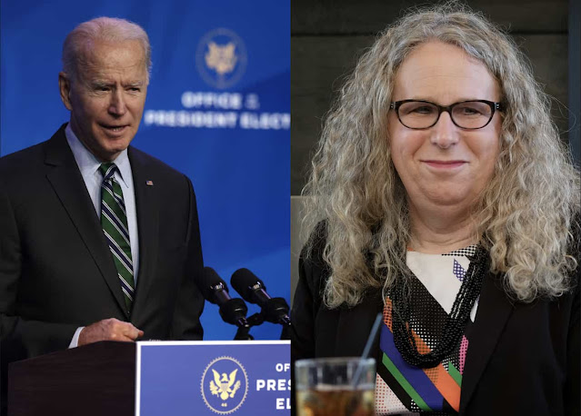 Joe Biden makes history after appointing a transgender doctor as assistant health secretary