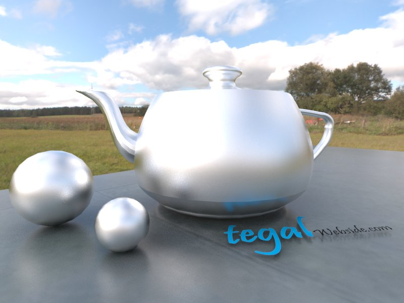 how to make stainless steel material vray sketchup